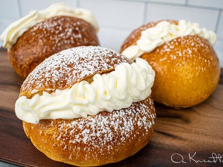 Sourdough Cream Buns