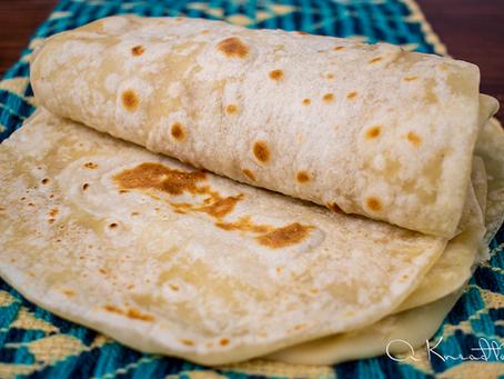 Sourdough  Flour Tortillas