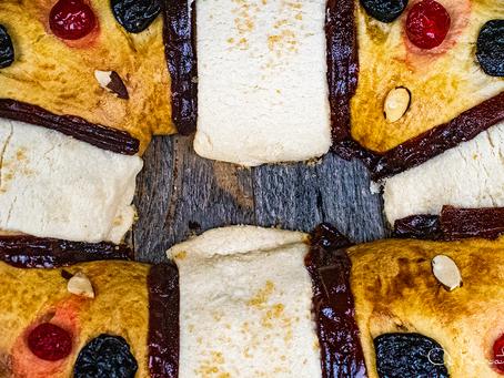Sourdough Rosca de Reyes (Ring of the Kings)
