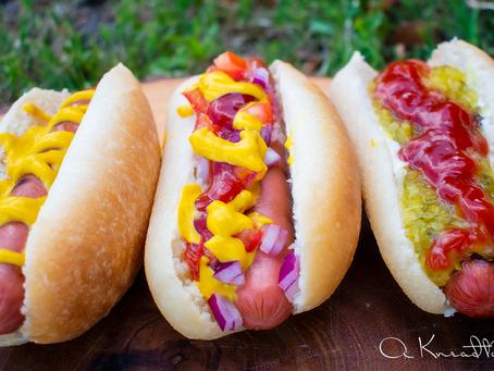 Sourdough Potato Hot Dog Buns