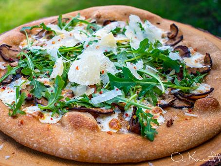 Sourdough 100% Whole Wheat Pizza