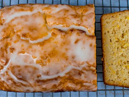 Lemon & Summer Squash Sweet Bread with Sourdough Starter
