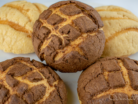 Sourdough Conchas, Classic Mexican Sweet Bread