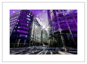 Purple City Sunrise - £175