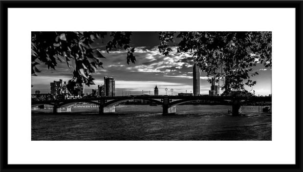 Sunset Over the Thames - £150