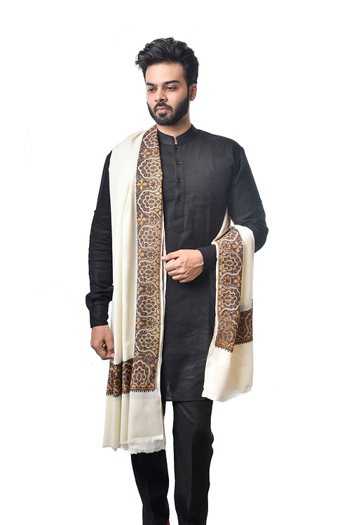 Men Timeless Classic Embroidery Shawl