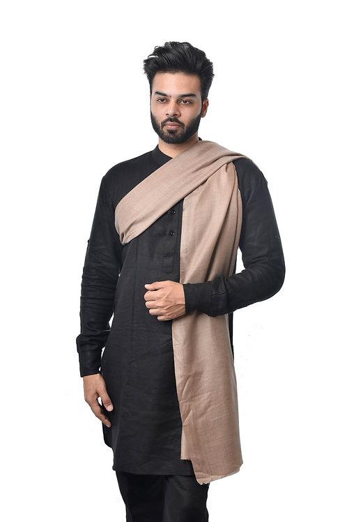 Men's Fine Wool Pashmina Ring Shawl
