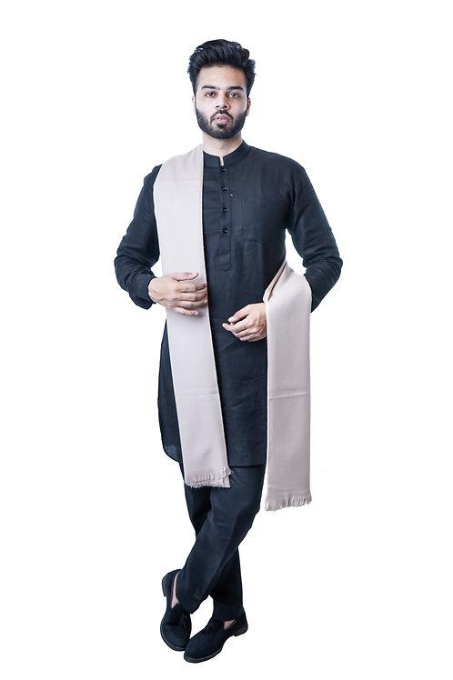 Men's Fine Wool Pure Wool, Woven Shawl