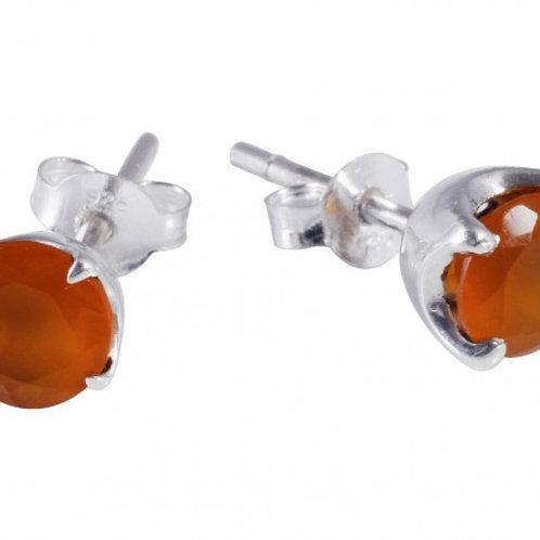 Boucles d'oreille de Cornaline
