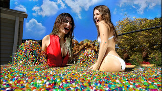 Orbeez In Hot Tub
