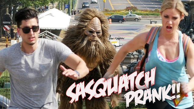 Jack Links - Sasquatch Prank