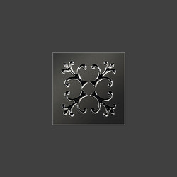 Tuluza Black вставка из керамогранита