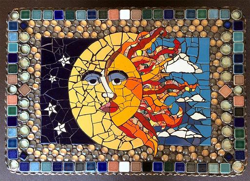 Изготовление мозаики из керамогранита
