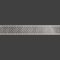 Sparta Grey бордюр из керамогранита