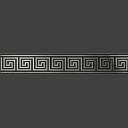 Sparta Black бордюр из керамогранита
