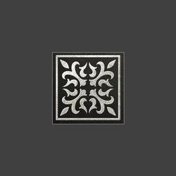 Palermo Black Serebro вставка из керамогранита