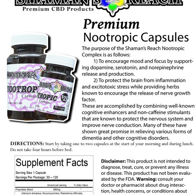 Nootropic Capsules