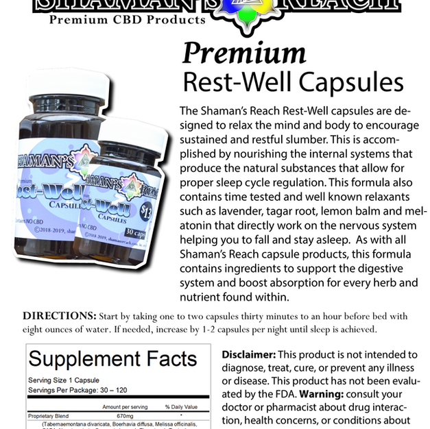 Rest Well Capsules