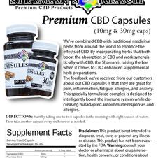 Premium CBD Capsules