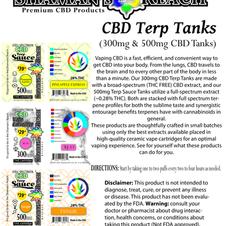 Premium Terp Tanks