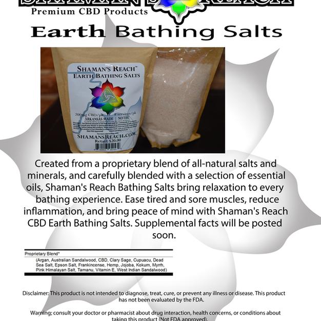 Earth Bathing Salts