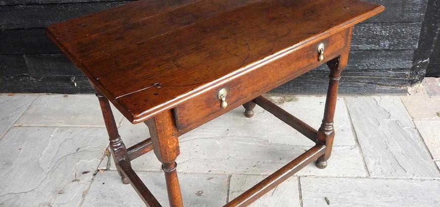 Circa 1650 Oak Table