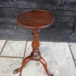 George II Mahogany Kettle stand