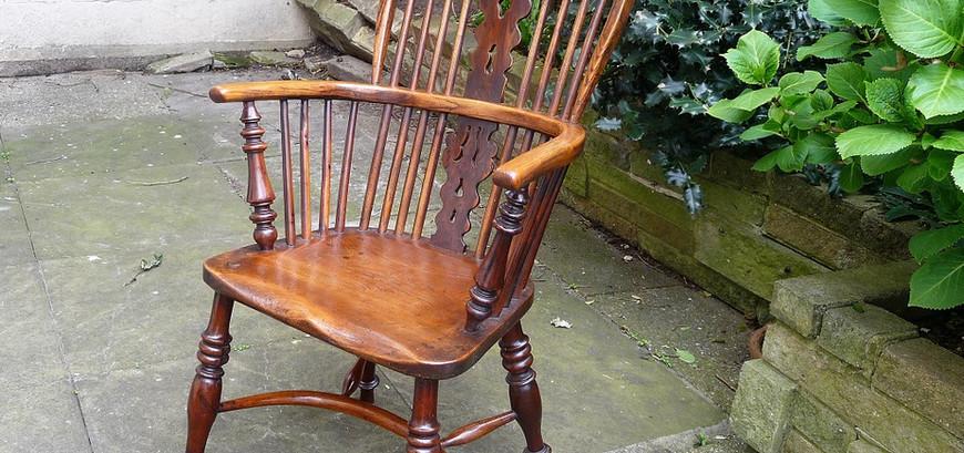 Fine George IV Windsor chair