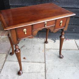 Queen Anne Oak Dressing Table 1710