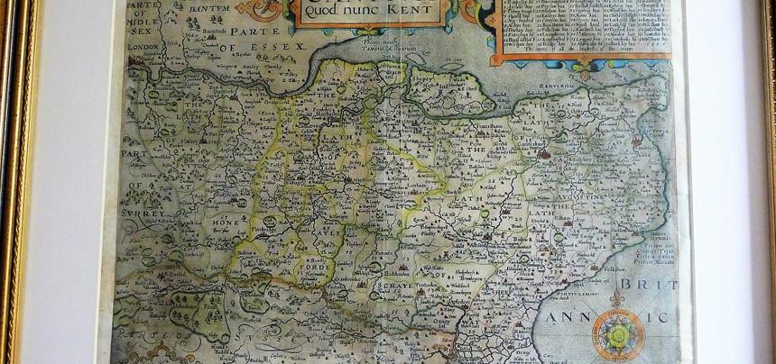1610 Saxton Map £345