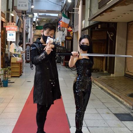 忍術×手品 岐阜黄金忍者ミステリーウォーク