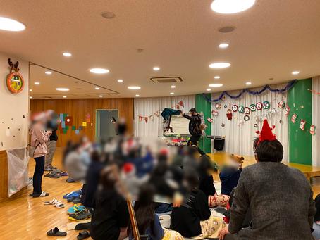 児童福祉施設にてイリュージョンショー!