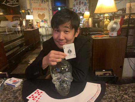 BUBASTY(ブバスティー)さんでテーブルマジックやります!