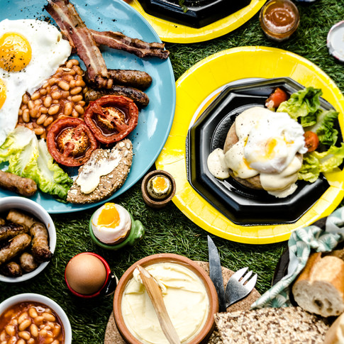 A breakfast feast