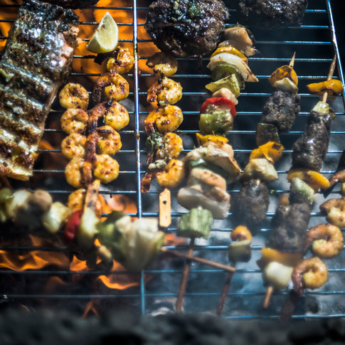 Barbecue, Mountain Gourmets style