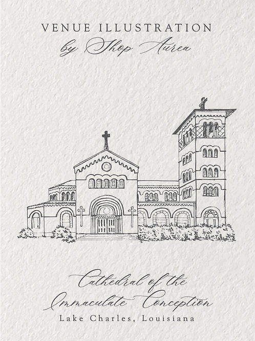 Cathedral of the Immaculate Conception | Front View