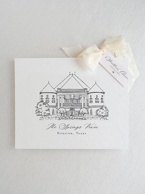 Fine Art Print of The Springs Venue