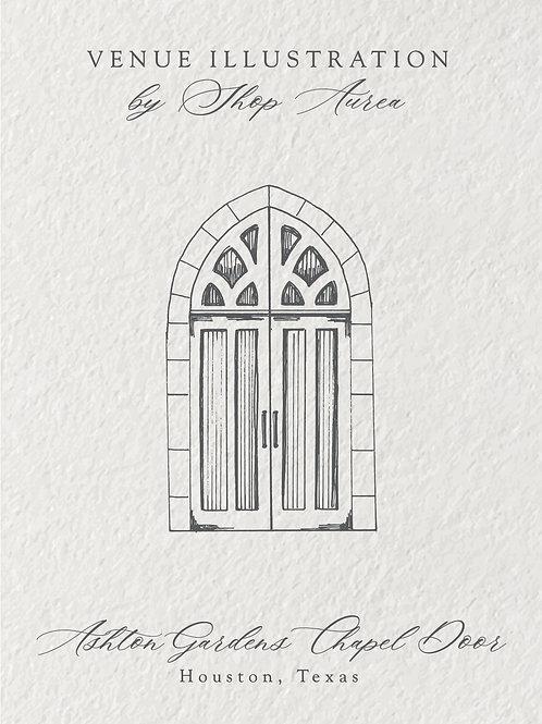Ashton Gardens Chapel Door