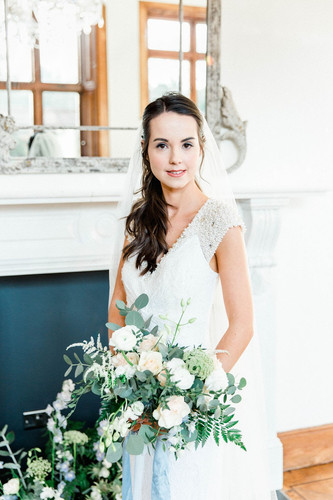 Dusky Blue. A Styled Bridal Shoot.