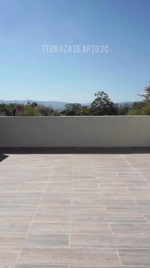 Terraza del apto. 1 C