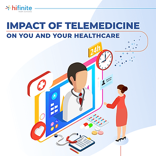 The impact of telemedicine on you and yo