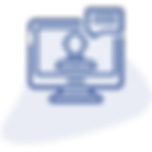 Live video chat of a person via hiCare Consult Telemedicine