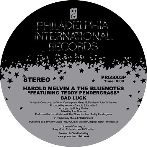 Harold Melvin & The Blue Notes feat. Teddy Pendergrass Bad Luck / Don't Leave Me