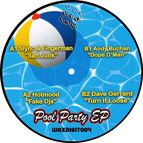 "Various Artists - WAXDIGIT004 ""Pool Party"" EP"
