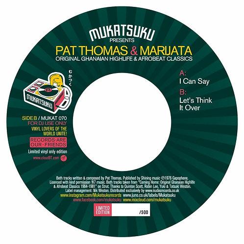 Pat Thomas & Marijata - Original Ghanaian Highlife & Afrobeat Classics