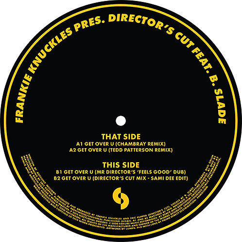 Frankie Knuckles pres Director's Cut feat B.Slade - Get Over U