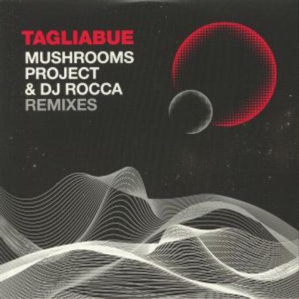 "TAGLIABUE / DJ ROCCA / MUSHROOMS PROJECT - AFRO SPAZIO REMIXES - 10"" RED VINYL"