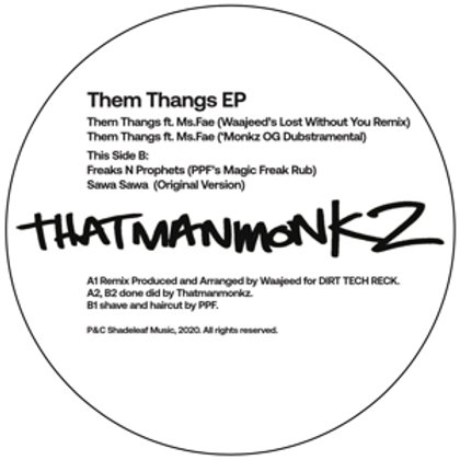 THATMANMONKZ  - THEM THANGS EP