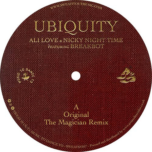 Ali Love / Nicky Night Time Featuring Breakbot Ubiquity (Feat. Breakbot)