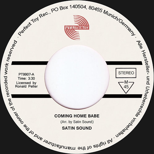 Ronny Pellers Satin Sound - Coming Home Baby
